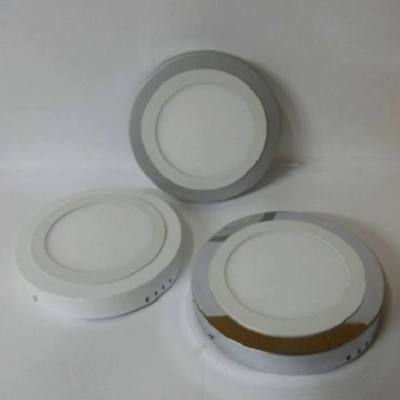 273/2010 Downlight led superficie Blanco, Cromo y Plata bisel Blanco